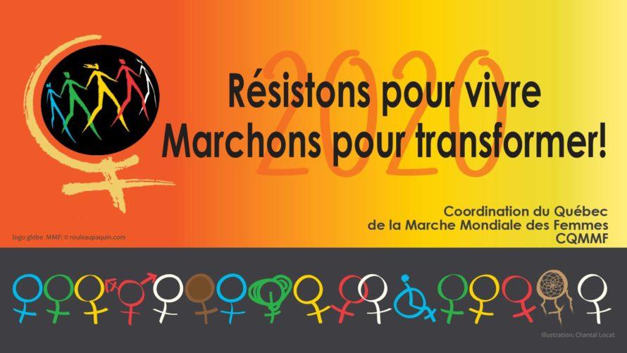 Nos consœurs du Comité provincial des droits de la personne (DDLP), Joëlle Ravary et Carole Martin, en action!