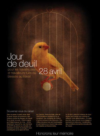 Journée internationale de commémoration des personnes décédées ou blessées au travail