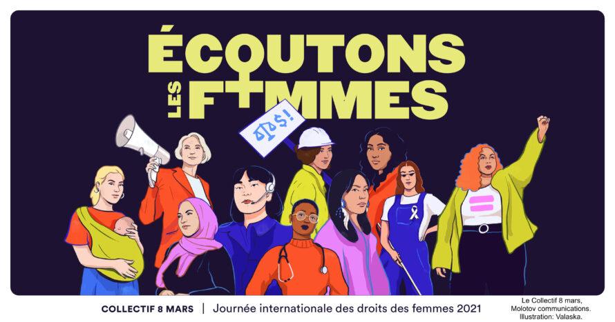 8 mars 2021 – Journée internationale des droits des femmes