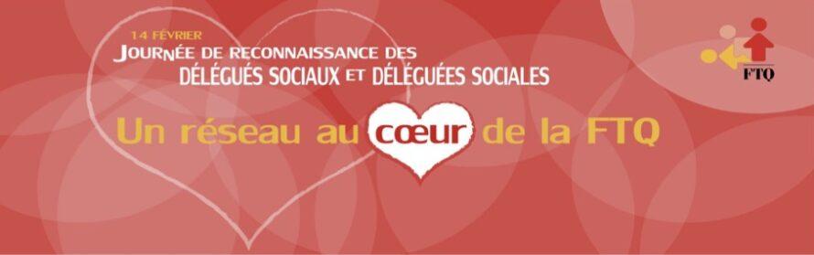 Le 14 février  – Journée  de  reconnaissance  des  délégués  sociaux  et  déléguées  sociales